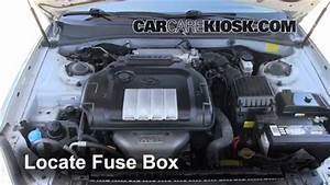 Blown Fuse Check 2002-2005 Hyundai Sonata