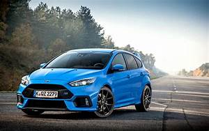 Wallpaper   Ford  Focus  Rs  Blue  Side View 1680x1050