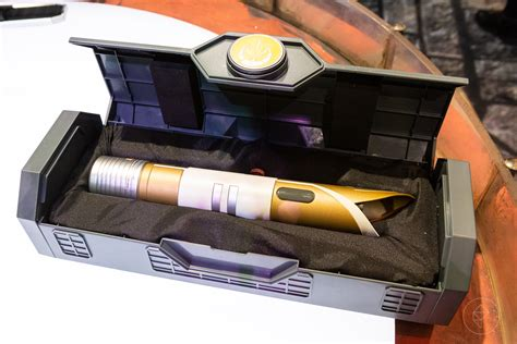 Disney Light Saber by How Fans Will Make Their Own Lightsabers At Disney S