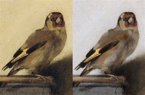 leah waichulis fine art restoration   goldfinch