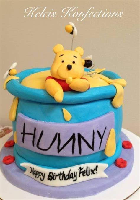 Winnie The Pooh Cake Template by Winnie The Pooh Cake I Made This As A Smash Cake For
