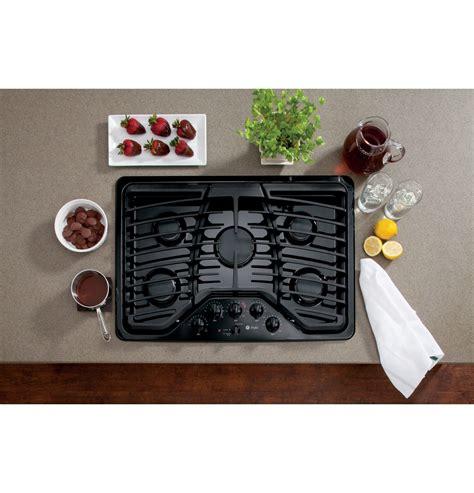 ge profile  black gas sealed burner cooktop cooktop gas cooktop cook top stove