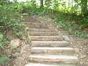 Landscape Timber Steps