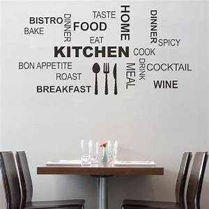 interior design beautiful kitchen design with wall quotes With kitchen colors with white cabinets with sticker wall art quotes