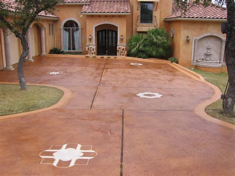 stained driveway ideas staining concrete patio ideas all home design ideas staining concrete patio design ideas