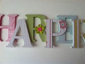 items similar to wooden letters for nursery in pink white With white nursery letters