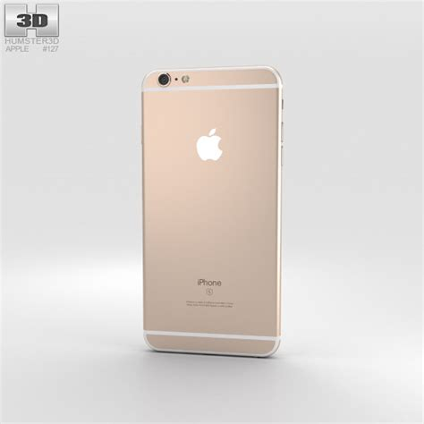iphone 6s plus gold apple iphone 6s plus gold 3d model humster3d