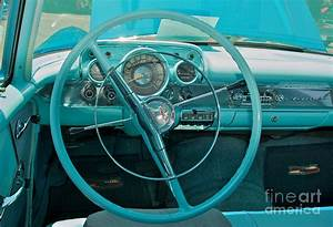 57 Chevy Bel Air Interior 2 Photograph by Mark Dodd
