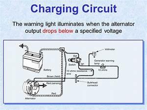 2wire Alternator With Voltmeter Wiring Diagram