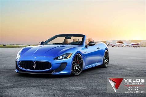 Blue Maserati Grancabrio Mc By Velos Designwerks Gtspirit