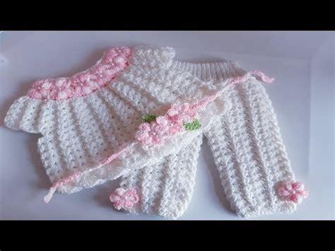 blusa tejida a ganchillo conjunto bebe todo en crochet youtube