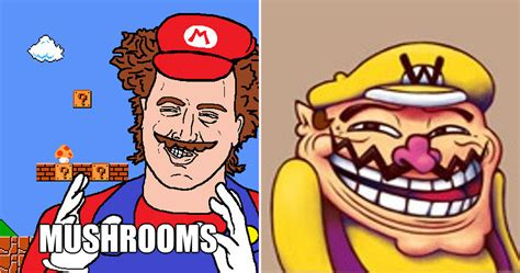 Mario Memes Mario Memes That Will Completely Ruin Your Childhood