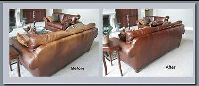 Leather Dye Re Repair Before Couch Furniture