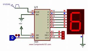 Cd4026 Circuit Diagram