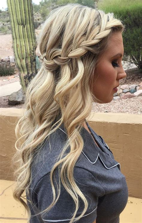 Bridesmaid Updo Hairstyles With Braids by 38 Bridesmaid Hairstyles Updos Half Up Half Curls