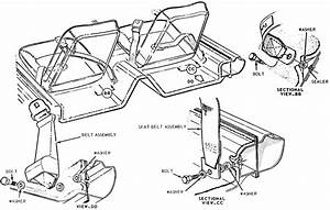 Classic Mustang Front Seat Belt Mounting Diagram