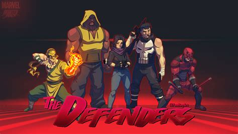 X Animated Series Wallpaper - the defenders the animated series by fooray on deviantart