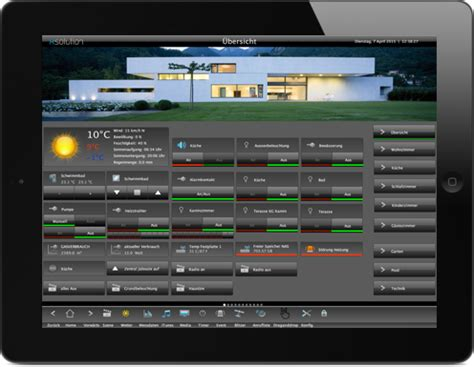 knx visualisierung xsolution xhome smart home visualisierung