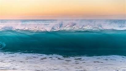 Sea Wave Surf Water Background Foam 1080p