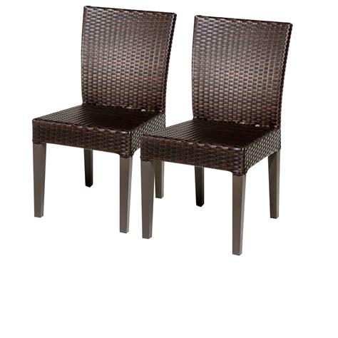 tk classics 2 napa armless dining chairs