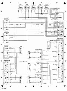 92 Jeep Cherokee  Wiring Diagram  Automatic  Locks