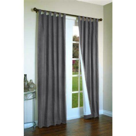 Tab Drapes - tab top curtains ebay