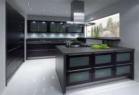 Kuchenschrank Schwarz by Schwarze K 252 Che Nobilia Black Kitchen By Nobilia