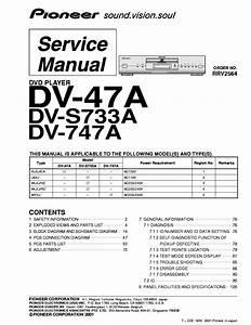 Pioneer Dv S733a Repair Service Manual User Guides