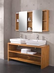 Waschtische Für Badezimmer : badezimmer waschtisch holz design ~ Michelbontemps.com Haus und Dekorationen