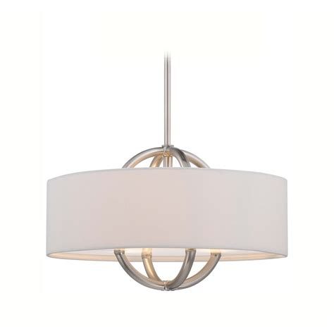 white drum pendant light modern drum pendant light with white shade in brushed