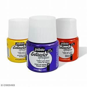 Peinture Pour Tissu Canapé : peinture tissu setacolor p b o opaque 45 ml peinture ~ Premium-room.com Idées de Décoration