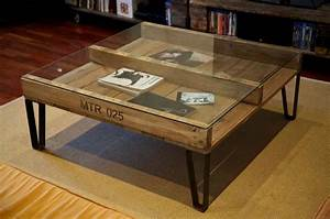 Table De Salon Originale : objets recycl s pour d corer la maison de fa on tr s personnelle et originale design feria ~ Preciouscoupons.com Idées de Décoration