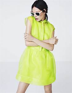 la robe fluo de hm les 10 looks de lete sans se ruiner With robe fluo h m