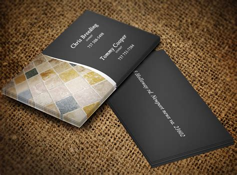 Bold, Serious, Flooring Business Card Design For A Company Business Cards Printing Deals Card Free Delivery Riyadh Plan Sample With Product Hyderabad Jaipur London Uk Print Size Photoshop