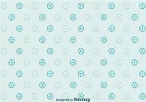 Flowers Dot Pattern Vector - Download Free Vector Art