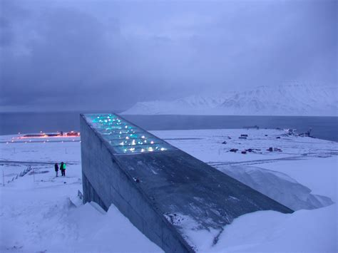 spitsbergen seed vault svalbard global seed vault norway longyearbyen most beautiful places in the world