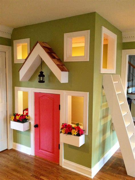small indoor kids playhouse design homemydesign