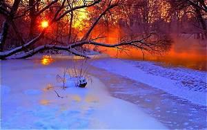 Winter Sunset Desktop | wallpaper, wallpaper hd ...