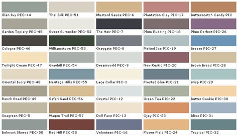 behr paint colors chart high quality behr paint color chart 9 behr paint color