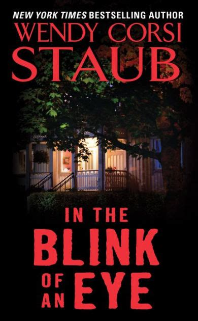 Blink Barnes And Noble by In The Blink Of An Eye By Wendy Corsi Staub Paperback