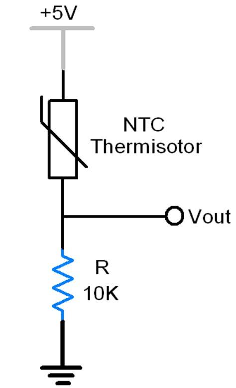 Ntc Thermistor Electronicwings