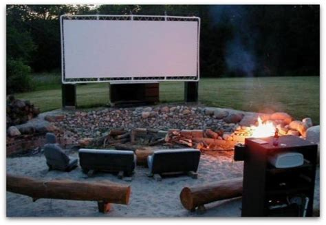 Backyard Home Theater by 12 Open Air Cinema Ideas For Summer Evening