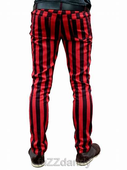 Stripes Trousers Hipster Skinny Thick Ronnie Striped