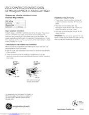 ge monogram zscnss manuals manualslib