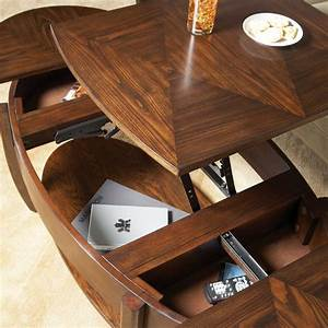 hammary concierge oval lift top coffee table coffee With oval lift top coffee table