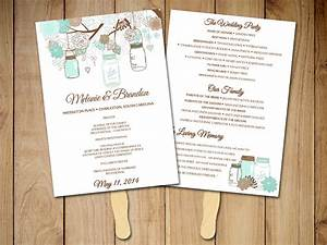 request a custom order and have something made just for you With wedding programs fans templates