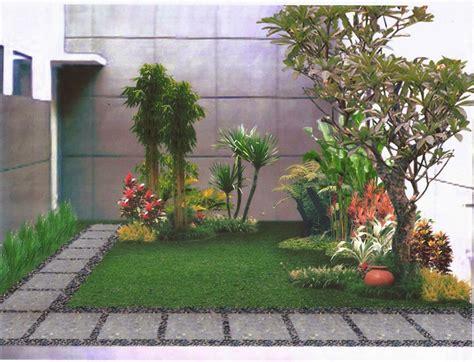 menciptakan desain taman depan rumah bagus minirumah