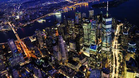 New York City At Night 8k Uhd Wallpaper Hd Wallpaper