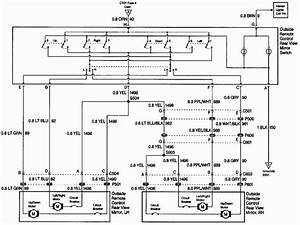 1999 Chevy Tahoe Rear View Mirror Wiring Diagram