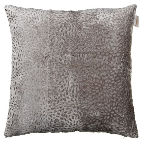 Ideal Image Westminster Westminster Velvet Oversized Cushion Silver Cushions B M